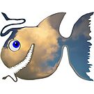 Fish Of The Deep Clouds by Juhan Rodrik