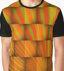 Rays over cubes Graphic T-Shirt