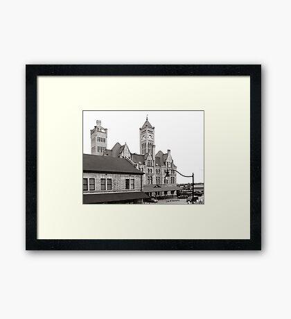 Union Station Nashville Tennessee USA Framed Print