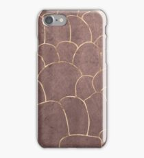 Aquatic Rose Gold iPhone Case/Skin