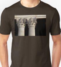 Corinthian Columns. Unisex T-Shirt