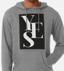 Yes 01 Leichter Hoodie