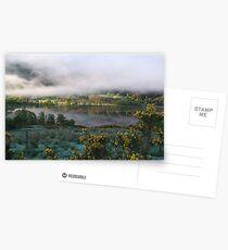 dawn mist  Postcards