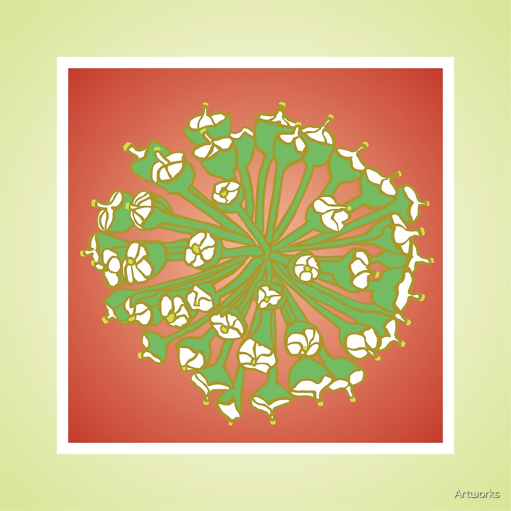 Ivy Flower by Artworks
