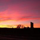 York sunset by Nazim