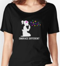 Embrace Different - Autism Awareness Women's Relaxed Fit T-Shirt
