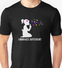 Embrace Different - Autism Awareness Unisex T-Shirt