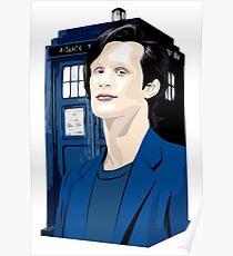 Blue Box Smith Cartoon Character Hoodie / T-shirt Poster
