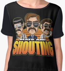 Beats and Shouting Women's Chiffon Top