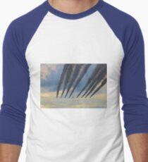 Red Arrows Arrive Men's Baseball ¾ T-Shirt