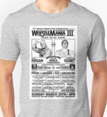 Wrestle Mania III Unisex T-Shirt