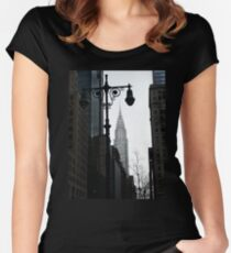 Chrysler Building Women's Fitted Scoop T-Shirt