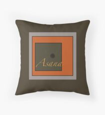 Asana Throw Pillow