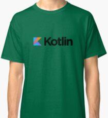 Kotlin programming language logo Classic T-Shirt