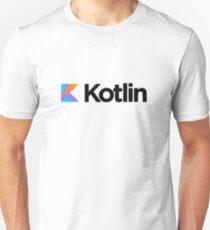 Kotlin programming language logo Unisex T-Shirt