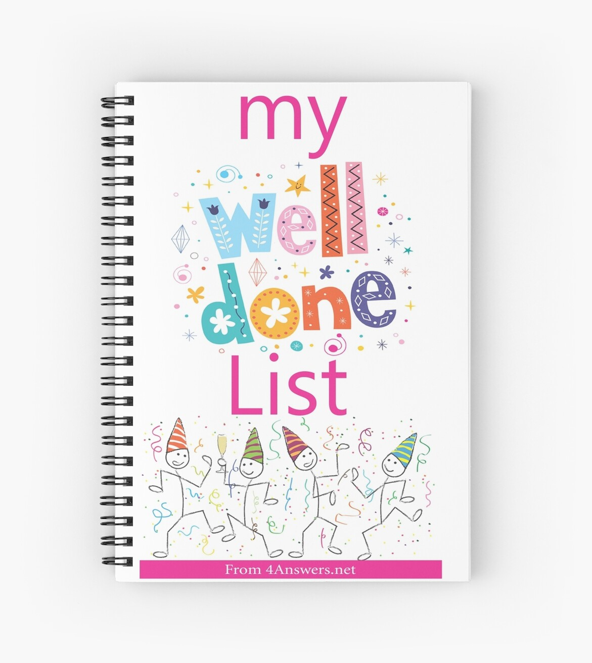 My WELL DONE List Journal! by joesegal
