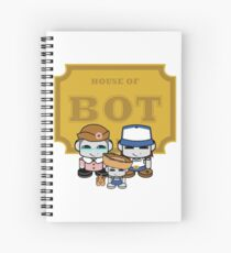O'BABYBOT: House of Bot Family Spiral Notebook