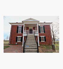 Appomattox Courthouse #1 Photographic Print