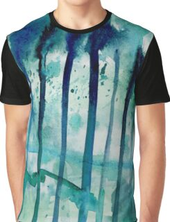 Water Fence Graphic T-Shirt