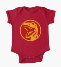 Dino Red One Piece - Short Sleeve