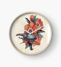 Flower Beetle Clock