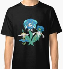 Pokemon Flabebe, Floette, & Florges (Blue Flower) Classic T-Shirt