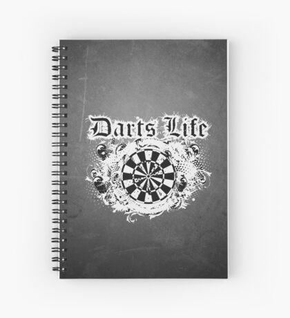 Darts Life Darts Shirt Spiral Notebook