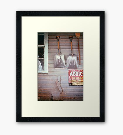 Two Scoops Framed Print