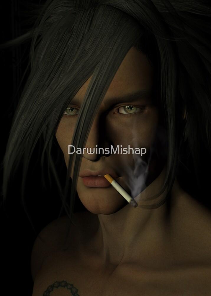 Smoke and reflections. by DarwinsMishap