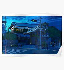 Blue Temple Nezu Poster
