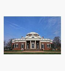 Monticello #5 Photographic Print