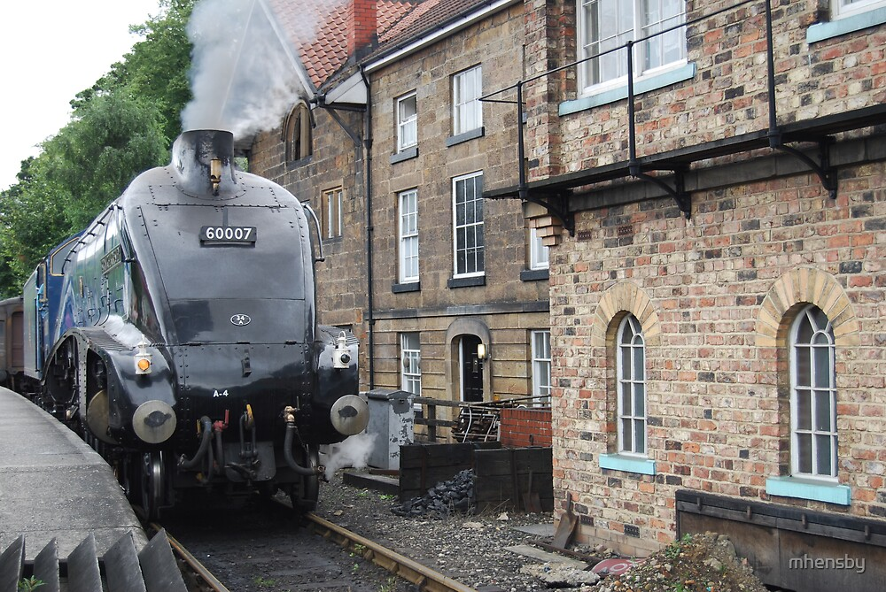 Sir Nigel Gresley at Grosmont St NYMR by mhensby