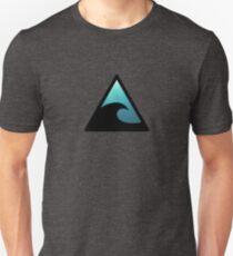 Tsunami Road Sign Unisex T-Shirt