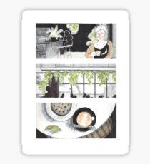 Cafe Parvis Sticker