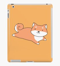 Shiba Laying on its Belly iPad Case/Skin