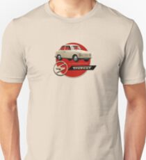 1957 Trabant poster recreated by MotorManiac Unisex T-Shirt