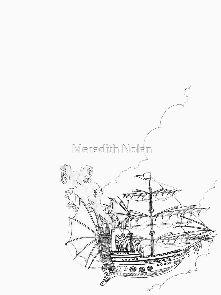 Pirate Ship T-Shirt by Grenfyra