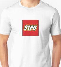 "STFU ""LEGO"" BOX LOGO PARODY Unisex T-Shirt"