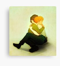 moony and padfoot Canvas Print