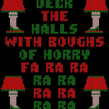Christmas Story Deck the Halls Ugly Sweater by xdurango