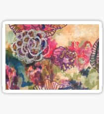 Floral Tapestry Sticker