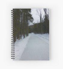 Saint-Donat, Quebec, Canada Spiral Notebook