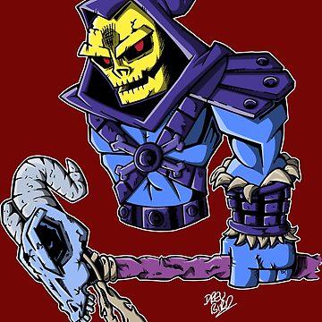 Skeletor by DrewBird