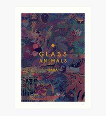 Glass Animals Zaba Art Print