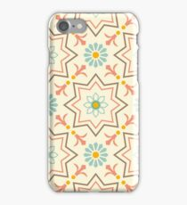 Old floral tiles iPhone Case/Skin