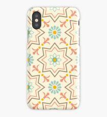 Old floral tiles iPhone Case/Skin