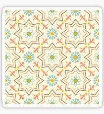 Old floral tiles Sticker