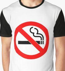 No Smoking Graphic T-Shirt