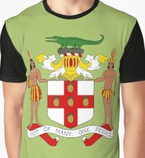 JAMAICA COAT OF ARMS Graphic T-Shirt