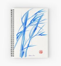 SOFT BREEZE - Original watercolor ink wash painting Spiral Notebook